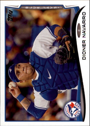 Photo of 2014 Topps Update #US136 Dioner Navarro