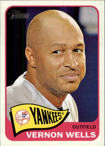 Photo of 2014 Topps Heritage #358 Vernon Wells