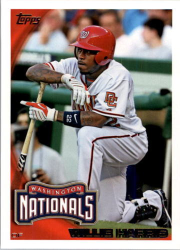 Photo of 2010 Topps #440 Willie Harris