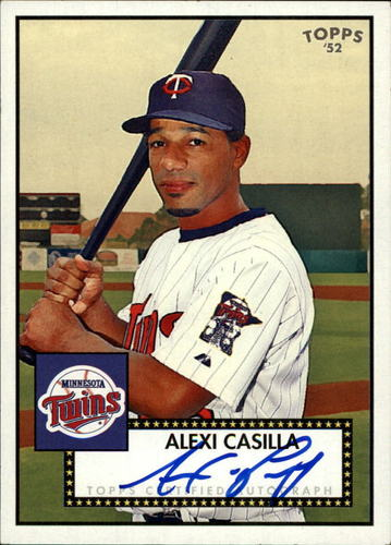 Photo of 2007 Topps 52 Signatures #AC Alexi Casilla F