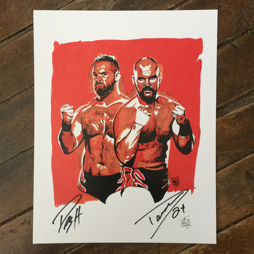 Revival SIGNED 11 x 14 Rob Schamberger Print