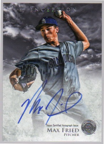 Photo of 2013 Bowman Inception Prospect Autographs #MF Max Fried
