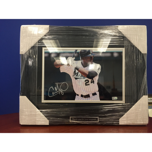 Photo of Marlins Charity Auction - Cameron Maybin Autographed Frame Photo