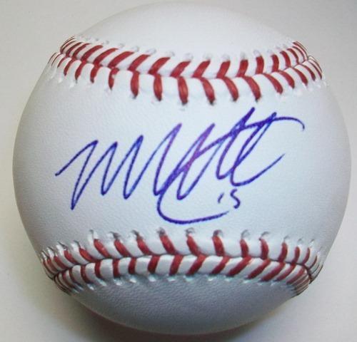 Photo of Matt Davidson Autographed Official MLB Baseball