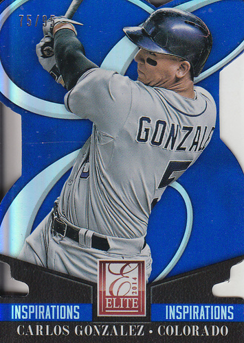 Photo of 2014 Elite Inspirations #16 Carlos Gonzalez/95