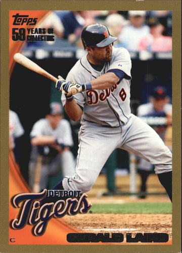 Photo of 2010 Topps Gold Border #309 Gerald Laird
