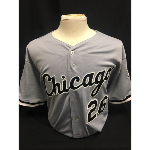 Photo of Avisail Garcia 2015 Team Issued Grey Road Jersey - Size 50