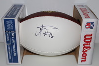 CHIEFS - JAYE HOWARD SIGNED PANEL BALL