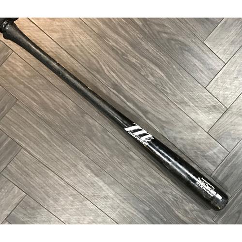 Photo of Daniel Descalso Game-Used Broken Bat