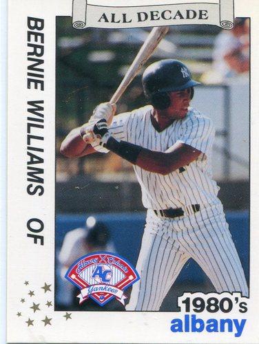 Photo of 1990 Albany Yankees All Decade Best #33 Bernie Williams
