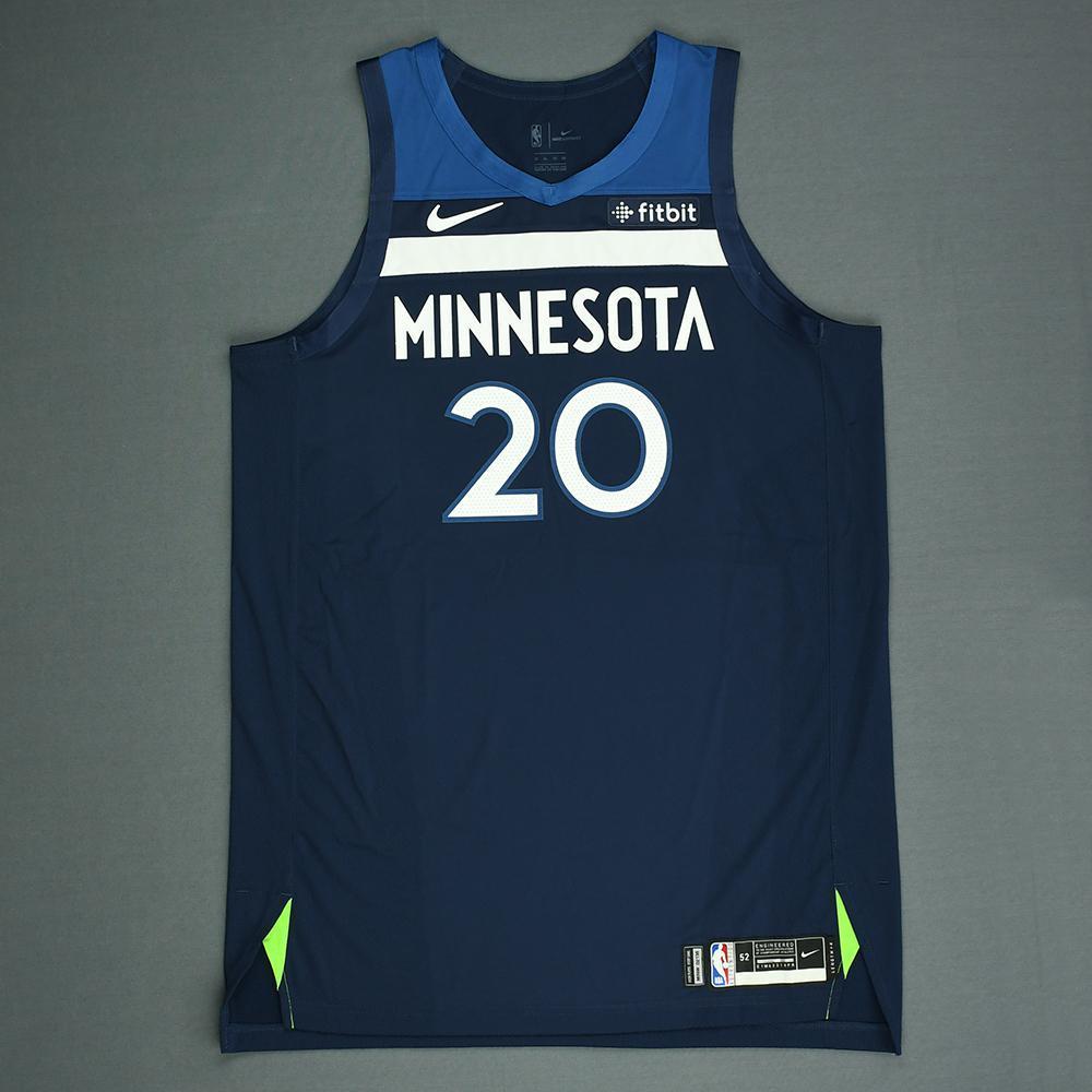 Josh Okogie - Minnesota Timberwolves - 2018 NBA Draft - Autographed Jersey