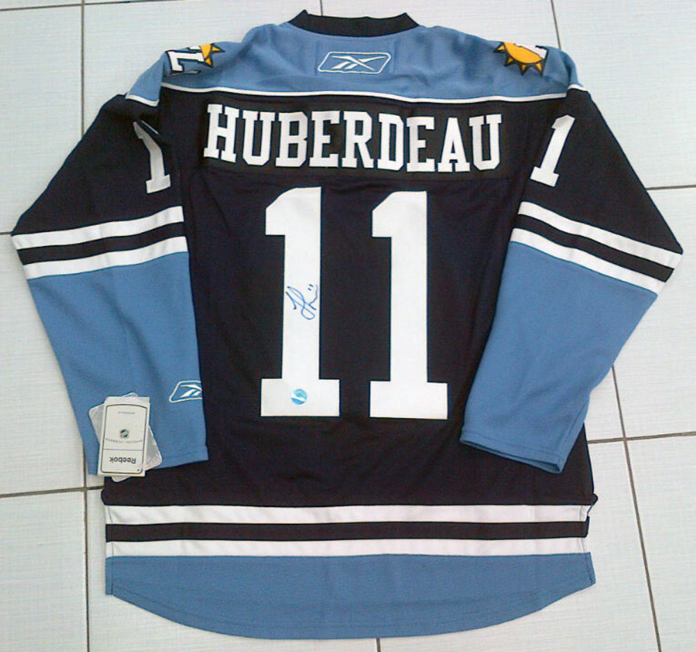 Jonathan Huberdeau Autographed Florida Panthers RBK Hockey Jersey *Size Medium*