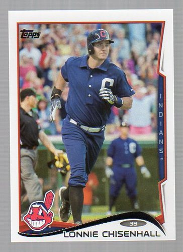 Photo of 2014 Topps #317 Lonnie Chisenhall