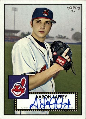 Photo of 2007 Topps 52 Signatures #ASL Aaron Laffey F