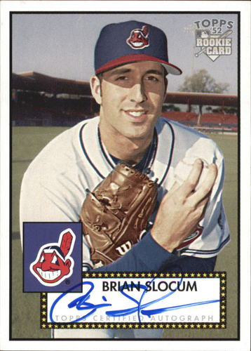 Photo of 2006 Topps 52 Signatures #BS Brian Slocum I