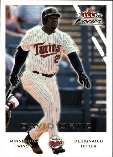 Photo of 2001 Fleer Focus #128 David Ortiz