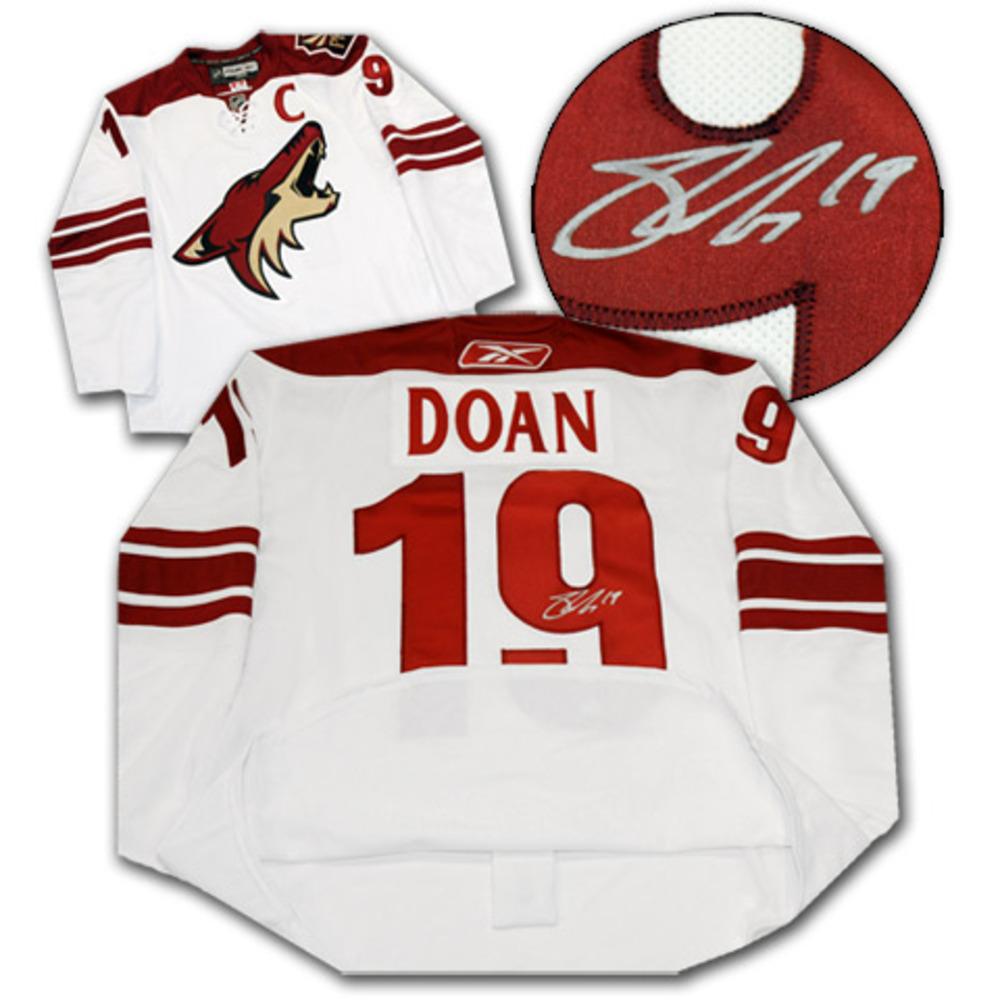 Shane Doan Phoenix Coyotes Autographed Reebok Pro Edge Jersey