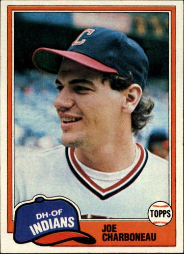 Photo of 1981 Topps #13 Joe Charboneau RC