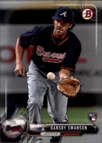 Photo of 2017 Bowman #57 Dansby Swanson RC