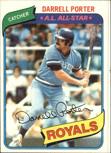 Photo of 1980 Topps #360 Darrell Porter DP