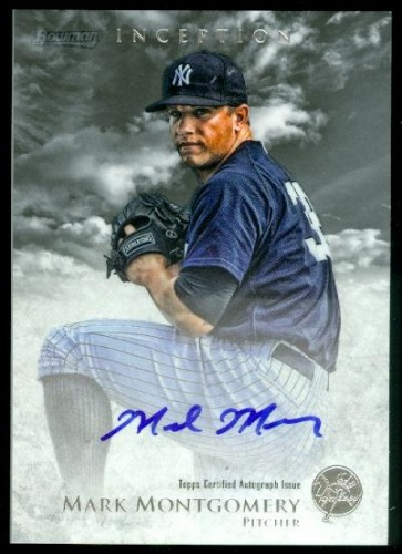 Photo of 2013 Bowman Inception Prospect Autographs #MM Mark Montgomery