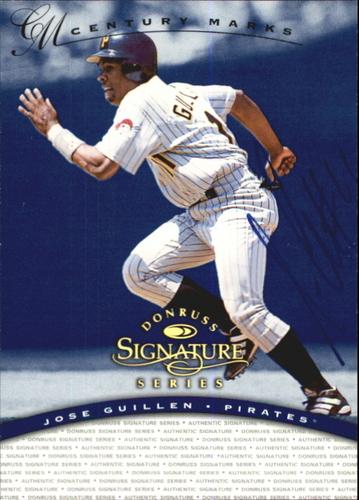 Photo of 1997 Donruss Signature Autographs Century #57 Jose Guillen