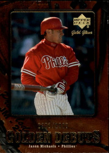 Photo of 2001 Upper Deck Gold Glove #111 Jason Michaels GD RC
