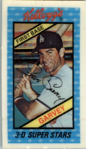 Photo of 1980 Kellogg's #31 Steve Garvey