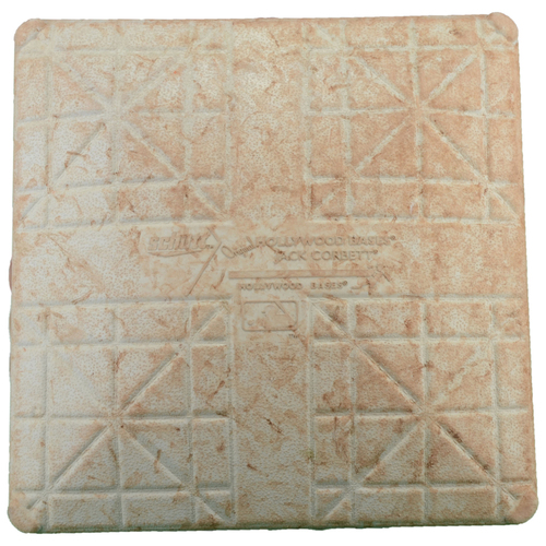 Photo of Texas Rangers Game-Used Second Base vs. Seattle Mariners on June 4, 2016