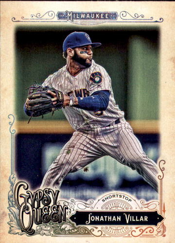 Photo of 2017 Topps Gypsy Queen #117 Jonathan Villar