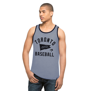 Downfield Tank Blue/Navy by '47 Brand