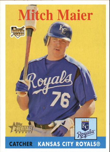 Photo of 2007 Topps Heritage #39 Mitch Maier RC