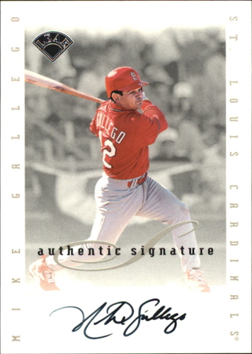 Photo of 1996 Leaf Signature Extended Autographs #56 Mike Gallego