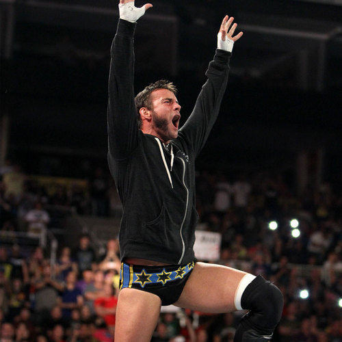 CM Punk WORN & SIGNED Lightweight Sweatshirt (RAW 8/26/13)