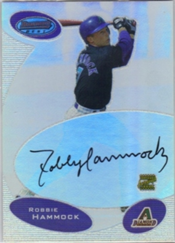 Photo of 2003 Bowman's Best #RWH Robbie Hammock FY AU RC