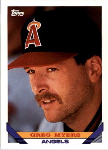 Photo of 1993 Topps #637 Greg Myers