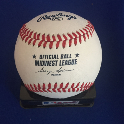 Photo of UMPS CARE AUCTION: Paul Molitor Midwest League Signed Baseball