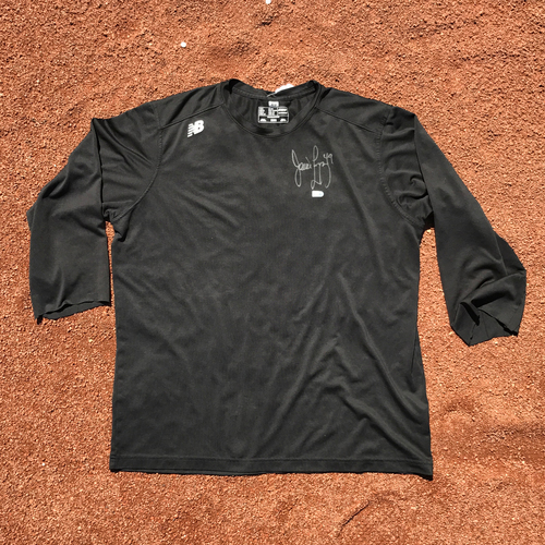 Photo of San Francisco Giants - Player Collected and Autographed Shirt - Javier Lopez