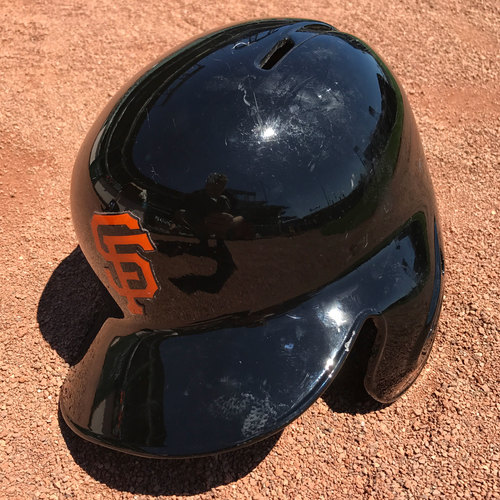 Photo of San Francisco Giants - 4x All-Star Madison Bumgarner - 2017 Spring Training Helmet (TI)
