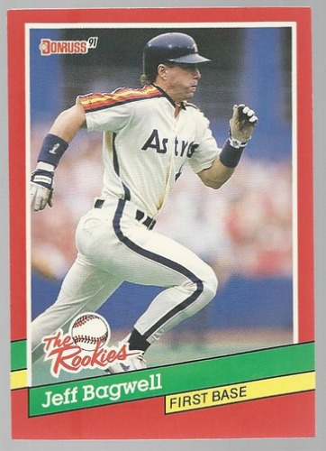 Photo of 1991 Donruss Rookies #30 Jeff Bagwell Rookie Card