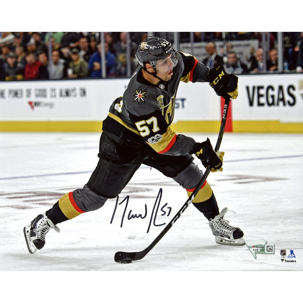 David Perron Vegas Golden Knights Autographed 8