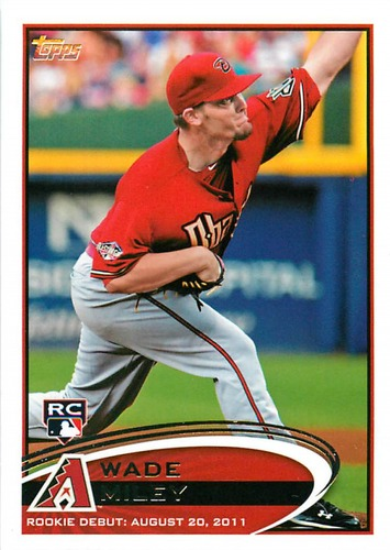 Photo of 2012 Topps Update #US5A Wade Miley