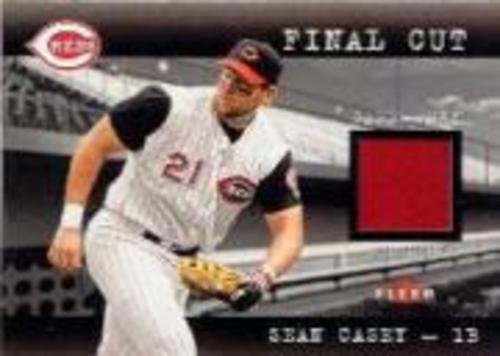 Photo of 2001 Fleer Genuine Final Cut #4 Sean Casey