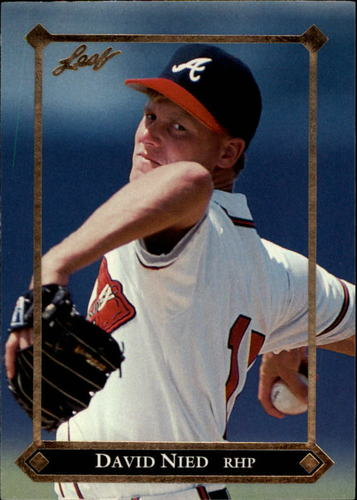 Photo of 1992 Leaf Gold Rookies #BC10 David Nied