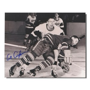Al Arbour (deceased) Autographed Detroit Red Wings 8x10 Photo