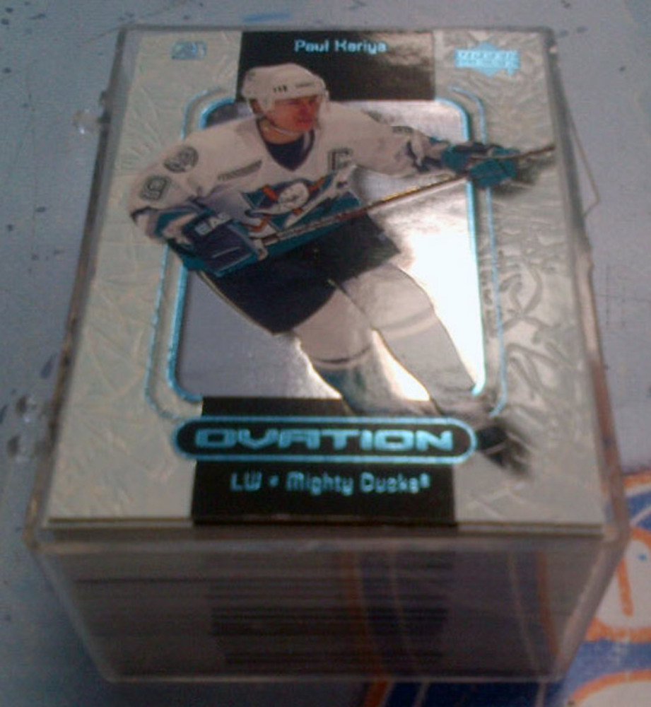 1999-2000 UD Ovation Base Hockey Card Set *1-60* *YZERMAN, BURE, MESSIER, SUNDIN CARDS*