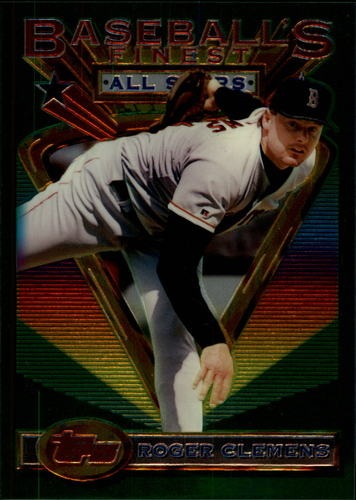 Photo of 1993 Finest Jumbos #104 Roger Clemens