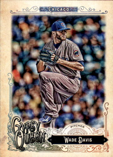 Photo of 2017 Topps Gypsy Queen #118 Wade Davis