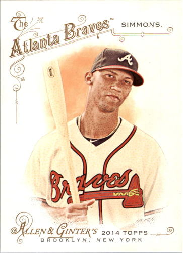 Photo of 2014 Topps Allen and Ginter #172 Andrelton Simmons