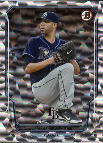 Photo of 2014 Bowman Silver Ice #209 David Price -- Red Sox post-season